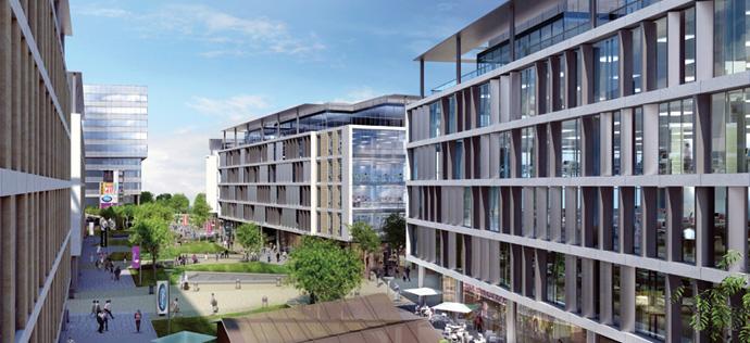 Commercial Spaces by Vatika - INXT City Centre