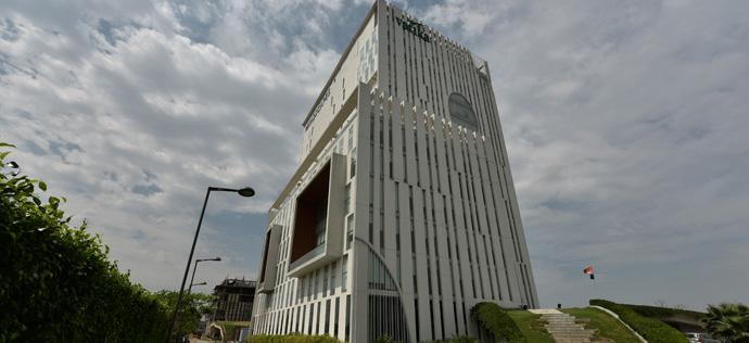 Vatika Mindscapes - Tower A back view