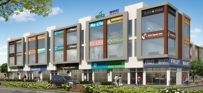 Retail Spaces by Vatika - INXT Market Place 2
