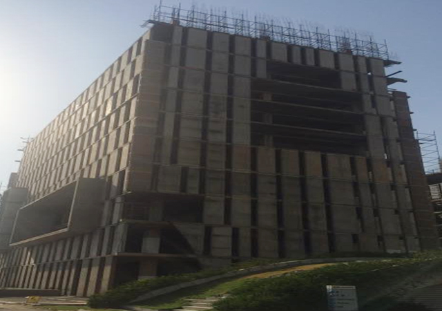 Vatika Mindscapes - Upto 1 Pour of 12th floor casted.