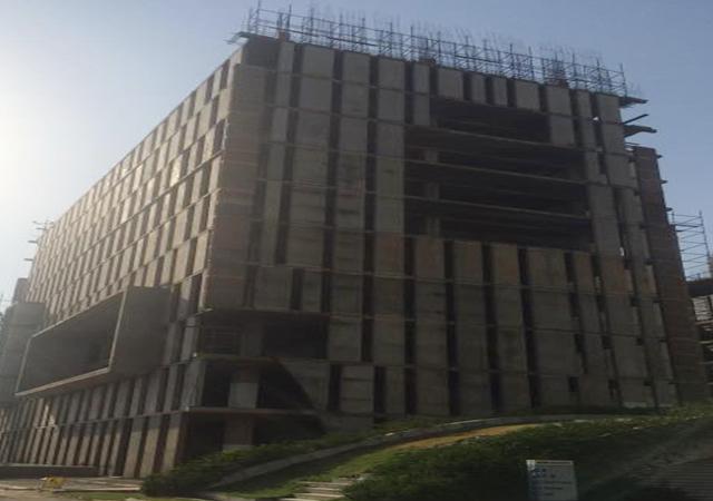 Vatika Mindscapes - Upto 1 Pour of 12th floor casted.