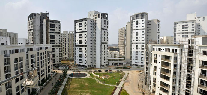 Vatika City, Sohna Road - Sovereign apartments overlooking the crimson park