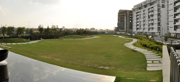 Vatika City, Sohna Road - Landscaping at Vatika City
