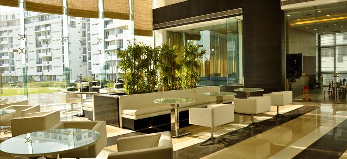 Vatika City, Sohna Road - Lounge area, clubhouse