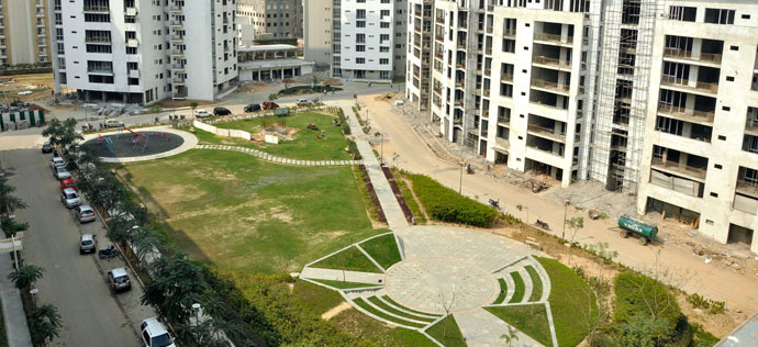 The Sovereign Apartments - Crimson park