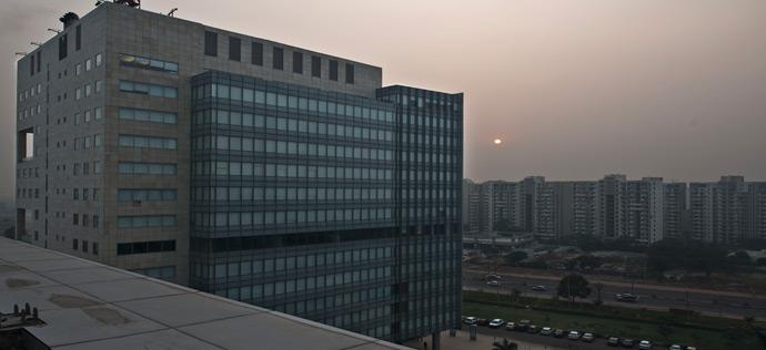 Vatika Business Park - Exterior View of Block Two
