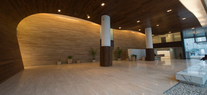 Vatika Business Park - Lobby View
