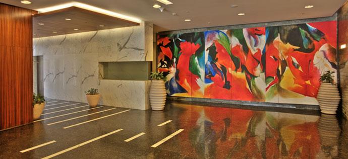 Vatika Towers - Lobby