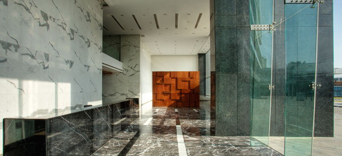 Vatika Towers - Lobby