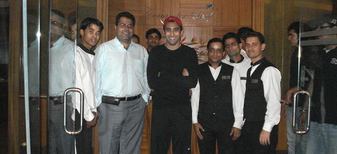 - Actor Rahul Khanna at Coriander Leaf