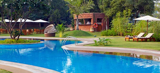 The Westin Sohna Resort and Spa -  Splash Pool