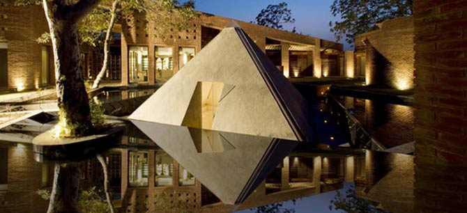The Westin Sohna Resort and Spa - Meditation Pyramid, The Heavenly Spa by Westin™