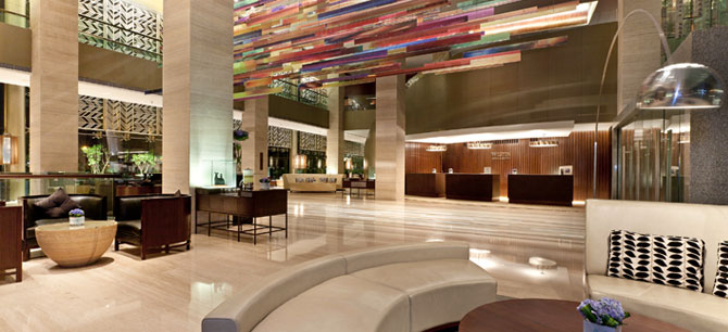 The Westin Gurgaon, New Delhi - Westin Place- Reception